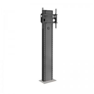 Info-Tower Wall - Standsystem zur Boden-Wandmontage