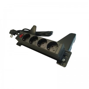 Einhängeadapter mit Steckerleiste