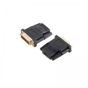 Adapter HDMI-Buchse/DVI-D-Stecker