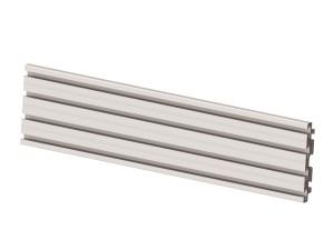 M Pro Series - Single Screen Rail 68cm Silver