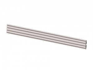 M Pro Series - Dual Screen Rail 196cm Silver