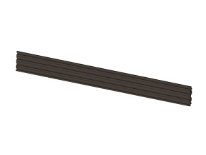 M Pro Series - Dual Screen Rail 196cm Black