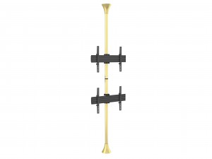 Floor to Ceiling Mount Pro MBFC2U Brass