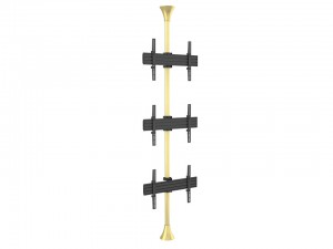 Floor to Ceiling Mount Pro MBFC3U Brass
