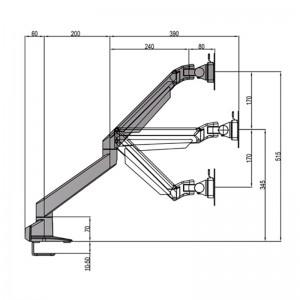 7279_m vesa gas lift arm single schwarz_web_020