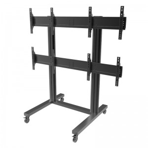 M Video Wall Trolley 2 x 2, mobiles Videowallstandsystem