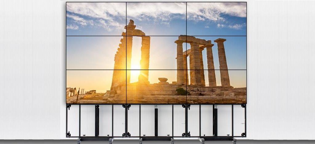 Videowallstandsysteme