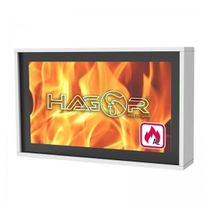 Schutzgehäuse mit Brandschutz